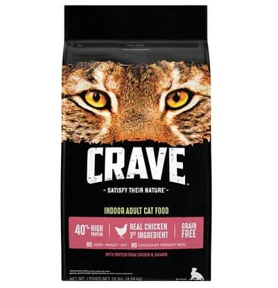 Crave with Protein with Chicken Adult Indoor | Chewy