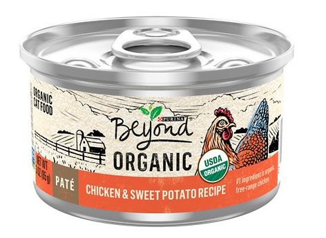Purina Beyond Organic Natural Wet Cat Food | Chewy