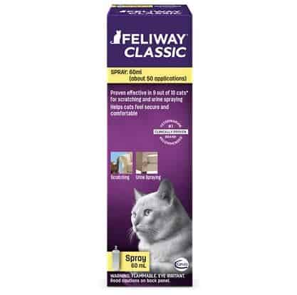 Feliway Classic Calming Spray for Cats   Chewy